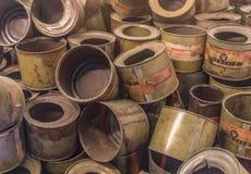 The extermination camp of Auschwitz, Poland stock image