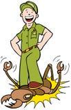 exterminator Стоковое Фото