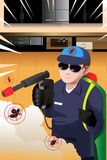 Exterminator man Stock Photos