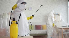 Exterminator ,rodent and mold destruction ,cleaning company work