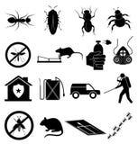 Exterminators icons set