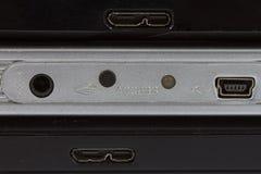 extern hård usb för kabeldrev Arkivbild