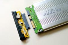 extern harddisk Arkivfoton