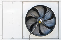 Extern paneel van een airconditioningstoestel Royalty-vrije Stock Foto's