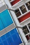 Extern van de stadsbouw Stock Fotografie