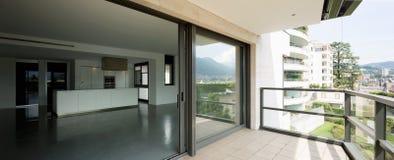 External роскошной квартиры Стоковые Фотографии RF