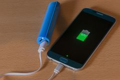 An external battery Royalty Free Stock Images