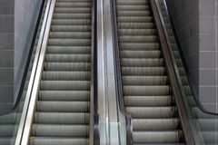 External Building Escalators.  Australia Royalty Free Stock Photos