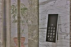 External control panel of modern elevator Royalty Free Stock Photos