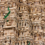 External decoration of hindu temple in Sri Lanka Stock Images