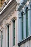 External del edificio de residencia Foto de archivo libre de regalías