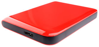 External disk drive Royalty Free Stock Image