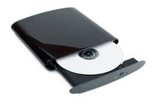 External DVD burner Royalty Free Stock Photo