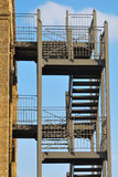 External fire escape Stock Image