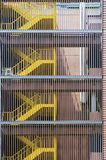External fire escape stairs Stock Photography