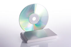 External hard disk and blank dvd Stock Images