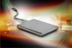 External hard disk Stock Images