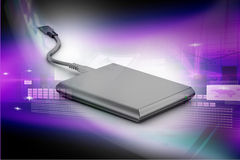 External hard disk Stock Photos