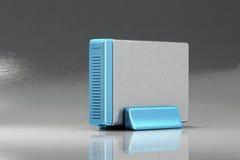 External hard disk drive Royalty Free Stock Image