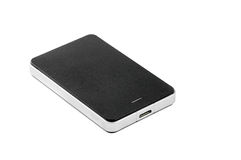 External Hard Disk on isolated background. External Hard Disk Drive on isolated background Royalty Free Stock Photos