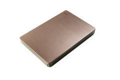 External Hard Disk USB 3.0 on isolated. White background Stock Image