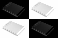 External hard disks Stock Images