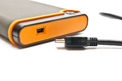 External hard drive Royalty Free Stock Images