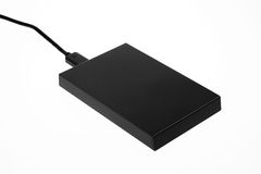 External Hard Drive Stock Image