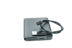 External hard drive for backup Royalty Free Stock Photo