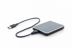 External hard drive for backup. Royalty Free Stock Images