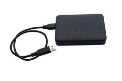 External hard drive for backup Stock Photography