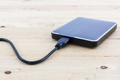 External hard drive for backup. stock photography