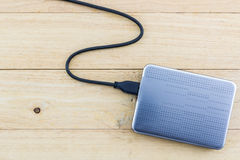 External hard drive for backup. Stock Images