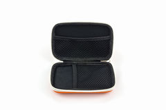 External hard drive carrying case. Stock Images