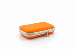 External hard drive carrying case. Royalty Free Stock Photos