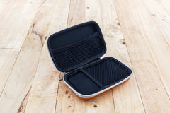 External hard drive carrying case. Stock Photography