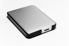 External Hard Drive Stock Photo