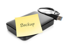 External hard drive Royalty Free Stock Image