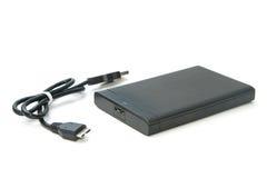 External hard drive isolated Stock Photos