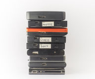 External hard drives. Close up. Stock Photography