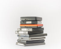 External hard drives. Close up. Stock Photos