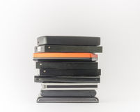 External hard drives. Close up. Royalty Free Stock Photography