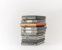External hard drives. Close up. Royalty Free Stock Images