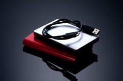 External hard drives Stock Photography