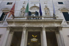 External of La Fenice theatre Royalty Free Stock Photography
