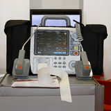 Defibrillator and monitor Stock Images