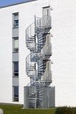 External metallic staircase Royalty Free Stock Image