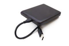 External portable HDD Fotografía de archivo libre de regalías