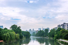 external qinhuai river royalty free stock images