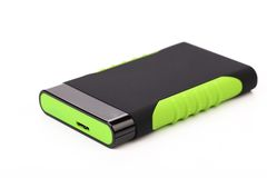 External silicon hard disk. Stock Photography